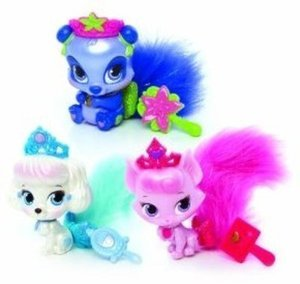 Disney Princess Palace Pets Furry Tail Friends 3pk