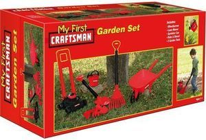 My First Craftsman 8pc Garden Set