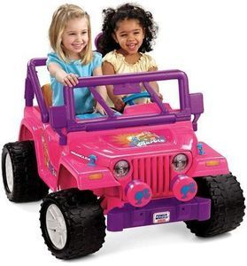 Power Wheels Barbie Jammin' Jeep Wrangler (After Coupon)