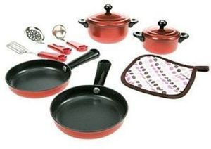 My First Kenmore 10-PC Pots & Pans Set