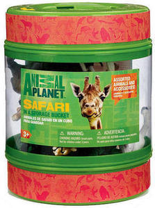 Animal Planet in a Storage Bucket - Safari