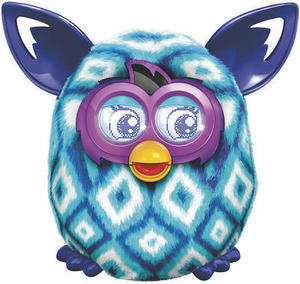 Furby Boom- Blue Diamonds