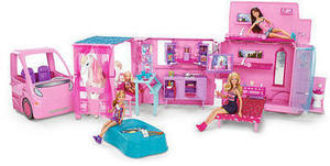 Barbie & Her Sisters in A Pony Tale RV Vehicle