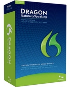 Nuance DRAGON NaturallySpeaking Premium Software Version 12