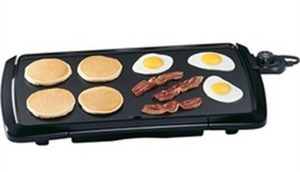 "Presto 20"" CoolTouch Nonstick Electric Griddle"