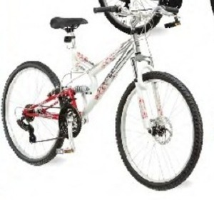 "Mongoose Women's Woodlands 26"" Mountain Bike"