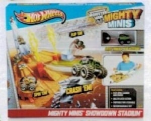 Hot Wheels Monster Jam Mighty Minis Showdown Stadium