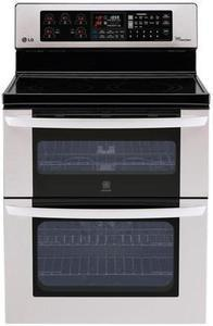 LG Electronics 6.7 cu. ft. Double Oven Electric Range
