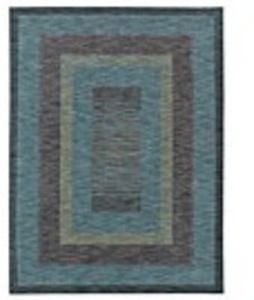 American Abstracts Collection 3'x5' Rug (Monza Blue)