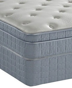 Serta Perfect Sleeper-Antigua Plush Eurotop-Twin 2-pc. Mattress Set