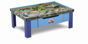 Thomas Wooden Railway Grow With Me Play Table