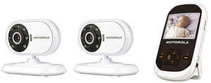 "Motorola 2 Camera Video Monitor w/ 2.4"" Screen"