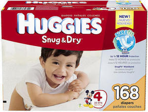 Huggies 88Ct or More Diaper Value Pack