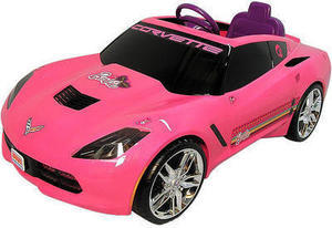 Power Wheels Barbie 12 Volt Corvette