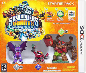 Skylanders Giants Starter Pack w/ Nintendo 3DS XL Order