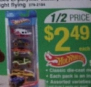 Hot Wheels Car Set
