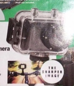 The Sharper Image HD 1080p Action Camera