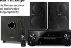 Pioneer 5.1 Network Ready Receiver & Speaker Package