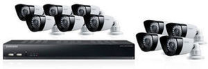 Samsung 16CH Security System with 10 Cameras, 2TB Hard Drive