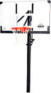 "LIfetime 54"" Glass In-Ground Basketball System"