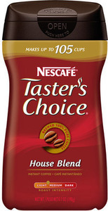 Nescafe Taster's Choice Instant Coffee w/ Card