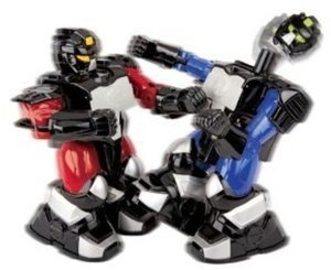 Remote Control Boxing Robots w/ Card