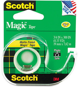 Scotch Magic Tape w/ Card