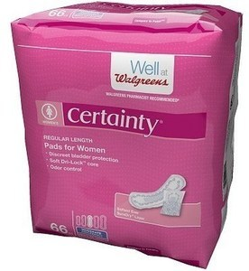 Certainty Select Pads 10 to 66-Pack w/ Card