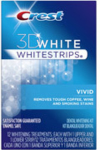 Crest 3D White Vivid Whitestrips After Rewards