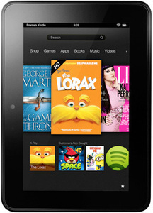 "Kindle Fire HD/HDX 7"" Tablet + $40 Future Shopping Coupon"
