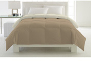 Down Alternative Reversible Comforter-Full/Queen