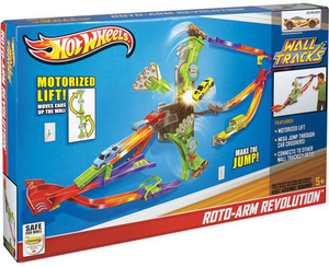 Hot Wheels Wall Track Roto-Arm Revolution