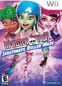 Monster High Roller Maze (Wii)