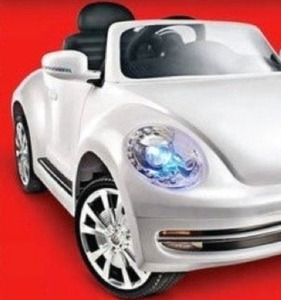 Volkswagen Beetle with MP3 Player