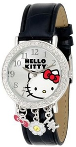 Hello Kitty Rhinestone and Charms Watch