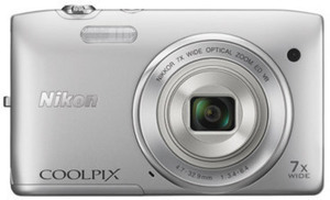Nikon Coolpix S3500 20.1 MP Digital Camera