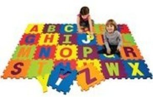 Alphabets, Shapes or Numbers Play Mat