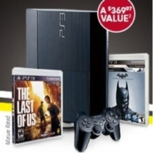 Playstation 3 Black Friday Holiday Bundle