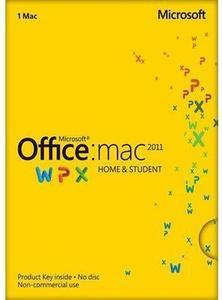 Office for Home and Student 2011 (Mac) w/ Mac Purchase