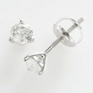10k 1/2-ct. T.W. Diamond Solitaire Earrings