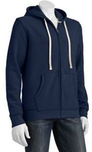Big & Tall Sonoma Life + Style Full-Zip Fleece Hoodie