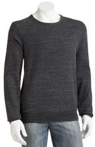 Sonoma life + style Men's Long-Sleeved Solid Thermal Crewneck