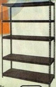 Edsal Heavy-Duty Steel 5-Tier Shelf