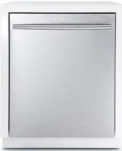 Samsung DW80F600UTS 24 in. Top Control Dishwasher in Stainless Steel with Stainless Steel Tub