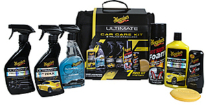 Meguiars Ultimate Car Care Kit w/ Trunk Organizer
