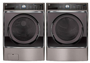 Kenmore Elite 5.2 cu. ft. Front-Load Washer and 9.0 cu. ft. Dryer Bundle -
