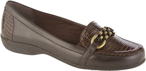 Laura Scott Women's Loafer Sylke - Brown