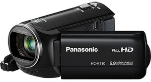 Panasonic HC-V110K Full HD Long Zoom Camcorder