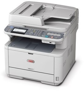 OKI MB471 w/ Multifunction Wireless Laser Printer