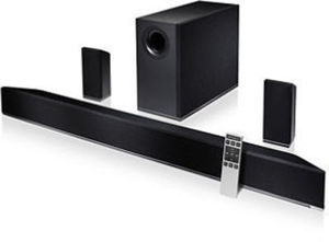 "VIZIO 42"" 5.1 Home Theater Sound Bar w/ Wireless Subwoofer & Surrounds"